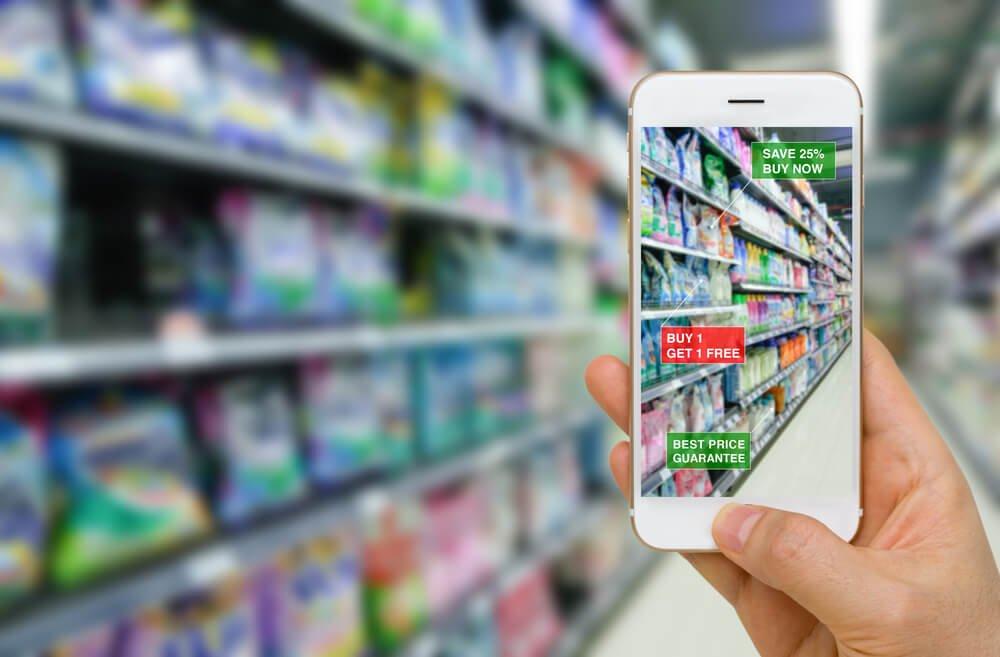 אפליקציה מציאות רבודה לחנות