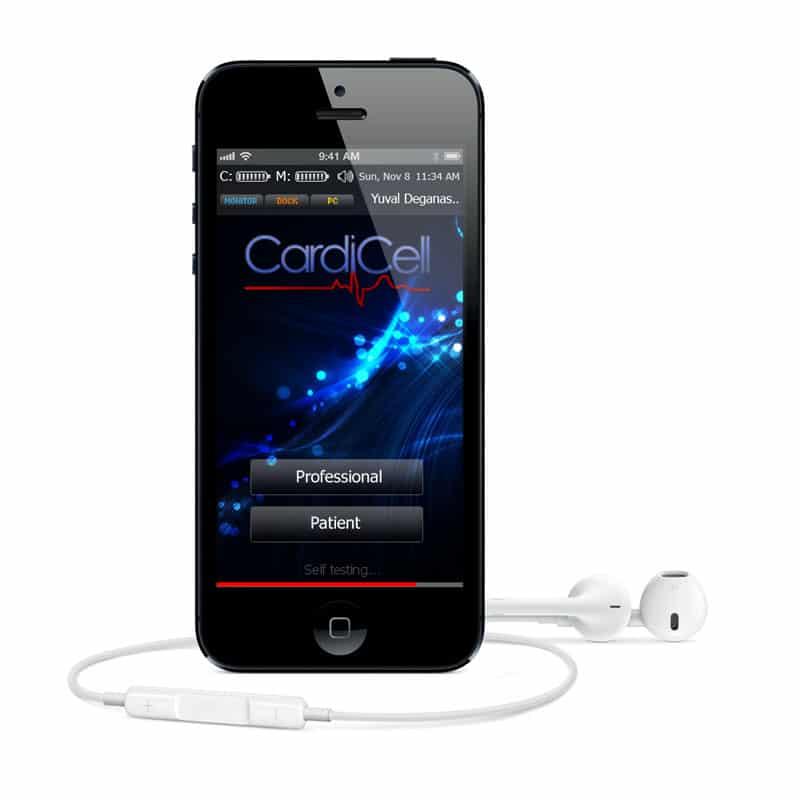 פיתוח אפליקציה Cardicell