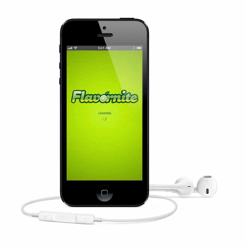 פיתוח אפליקציה Flavornite