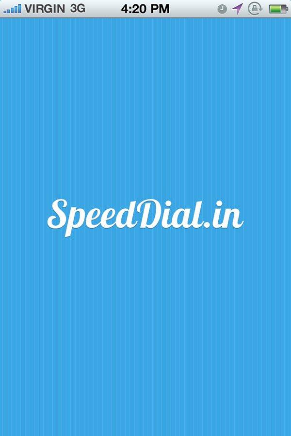 פיתוח אפליקציה Speed Dial